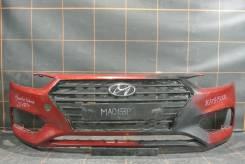 Бампер передний - Hyundai Solaris 2 (2017-н. в. )