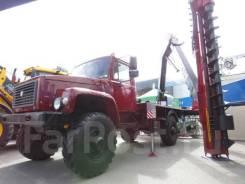 Бурильно крановая машина БКМ-3.350 на шасси ГАЗ-33088