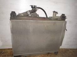 Радиатор охлаждения двигателя. Toyota Funcargo, NCP20