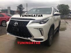 Бампер. Toyota Fortuner, TRN166, GUN166, GUN156, TGN156 Двигатели: 1GDFTV, 2TRFE