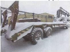 КЗКТ. Полуприцеп тяжеловоз -93881, В Ямало-Ненецком округе Новый Уренгой, 65 000кг.