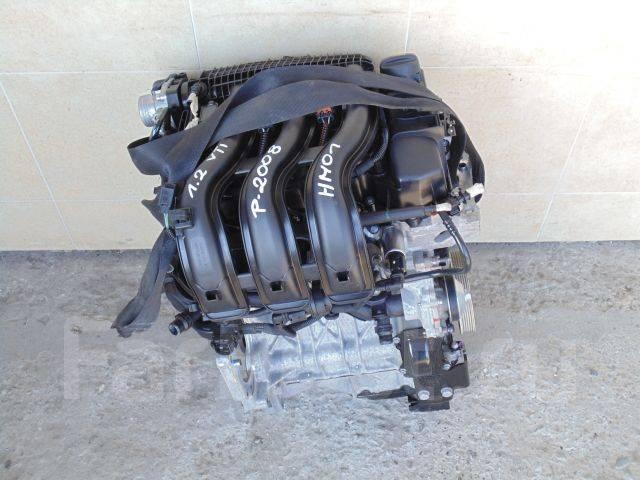 Двигатель HM01 Peugeot 2008 1.2
