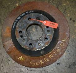 Диск тормозной задний Kia, Hyundai Sorento II, Santa Fe II