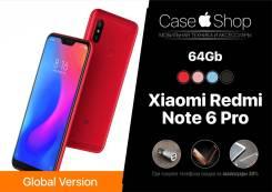Xiaomi Redmi Note 6 Pro. Новый, 64 Гб, Черный, 3G, 4G LTE, NFC
