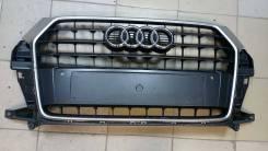 Решетка радиатора. Audi Q3, 8UB ALZ, CCTA, CCZC, CFFA, CFFB, CFGC, CFGD, CHPB, CLJA, CLLB, CPSA, CULB, CULC, CUWA, CYLA