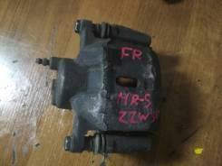 Суппорт тормозной. Toyota MR2, ZZW30 Toyota MR-S, ZZW30 Двигатель 1ZZFE