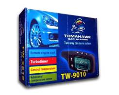 Установка сигнализации Tomahawk с автозапуском всего 4990р! В наличии!