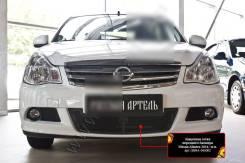 Защитная сетка переднего бампера Nissan Almera 2014-. Nissan Almera, G15 Двигатель K4M. Под заказ