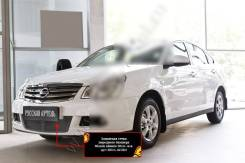 Защитная сетка и заглушка переднего бампера Nissan Almera 2014-. Nissan Almera, G15 Двигатель K4M. Под заказ