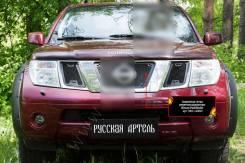 Сетка решетки радиатора. Nissan Pathfinder, R51, R51M VQ40DE, YD25