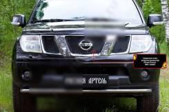 Сетка решетки радиатора. Nissan Navara, D40 YD25DDTI