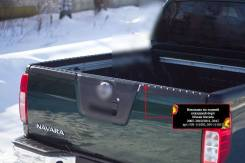 Накладка на задний откидной борт без скотча Nissan Navara 2005-2015. Nissan Navara, D40 Двигатели: V9X, YD25DDTI. Под заказ