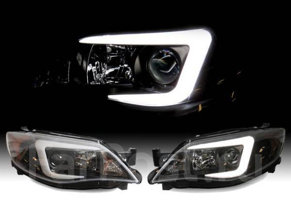 Фары для Subaru Impreza WRX 08-14 Black