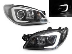Фары для Subaru Impreza WRX 05-07 Black Xenon/Галоген
