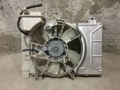 Вентилятор охлаждения радиатора. Toyota Yaris, NCP91, NCP93 Toyota Vitz Двигатели: 1NZFE, 2SZFE