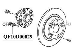 Шпильки колесные QUATTRO FRENI [ШпилькаколёснаяQF10D00029]
