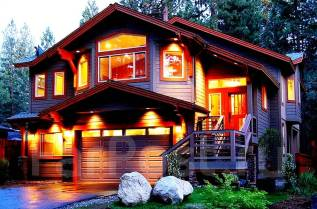 Проект дома из газобетона или пенобетона 1-180П. 200-300 кв. м., 2 этажа, 12 комнат, бетон