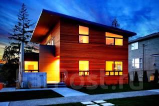 Проект дома из кирпича 1-229К. 200-300 кв. м., 2 этажа, 7 комнат, кирпич