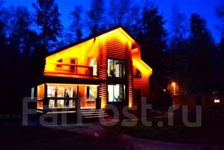 Проект дома из газо-или пенобетона 1-136П. 100-200 кв. м., 2 этажа, 6 комнат, бетон