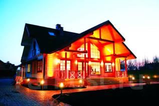 Проект дома из кирпича 1-158К. 200-300 кв. м., 2 этажа, 6 комнат, кирпич