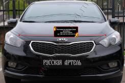 Защита фар прозрачная. Kia Cerato, YD G4FG, G4NA