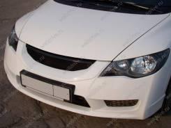 Сетка решетки радиатора. Honda Civic, FA1, FA3, FA5, FD1, FD2, FD3, FD7, FG1, FG2, FK1, FK2, FK3, FN1, FN2, FN3, FN4 K20A, K20Z3, L13Z1, LDA, LDA2, LD...