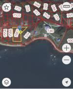 Земельный участок на Приисковом 150 метров от моря срочно. 1 000кв.м., аренда, от частного лица (собственник)