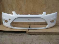 Форд Фокус II 08- (рестайлинг) Бампер передний окрашенный Белый
