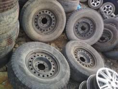 Штампованные диски с шинами