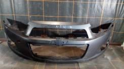Chevrolet Aveo T300 (2011-15гг) - Бампер передний