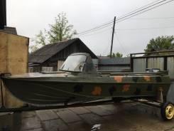 Казанка-5М3. длина 4,60м., двигатель подвесной, 40,00л.с., бензин
