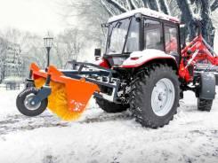 Уборка снега Фронтальный погрузчик+ Щетка