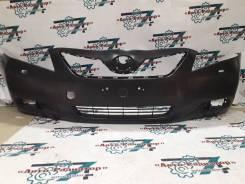 Бампер Toyota Camry 06-09 с отверстием под туманки, под омыватели