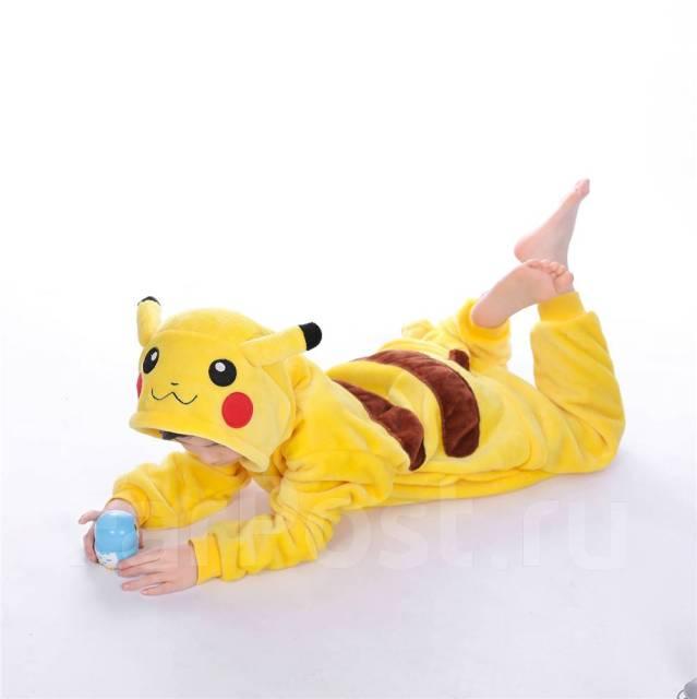 Пижама кигуруми Пикачу в наличии - Детская одежда во Владивостоке 70429551174e4