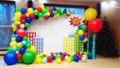 Арки из воздушных шаров (Калиброванные и разнокалиброванные)