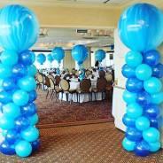 Оформлением банкетные залы Воздушными ( гилием ) шарами