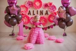 Детские фотосессии, годовасие, крушение тортика