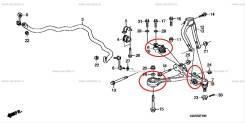 Сайлентблок рычага, тяги. Honda Legend, KB1, KB2 J35A, J35A8, J37A, J37A2, J37A3. Под заказ