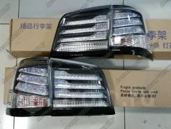 Стопы Lexus LX570 Лексус 570 2012-2015 прозрачные URJ201W Supercharger. Lexus LX570, URJ201W. Под заказ