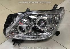 Фары Toyota Land Cruiser Prado 150 линза диодные светлые