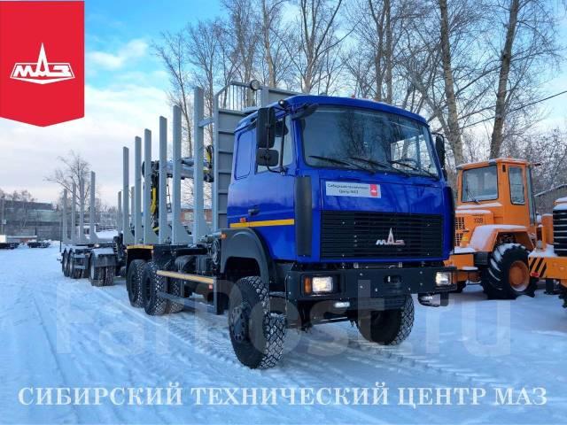 МАЗ 6317. В наличии! Новый сортиментовоз МАЗ-6317F9, 14 850куб. см., 55 000кг., 6x6