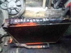 Продам радиатор охлаждения двс 2LT меха Toyota Surf куз.130