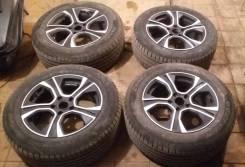 Комплект колес 215/60 R16 летние на литье Ауди Мерседес Фольксваген