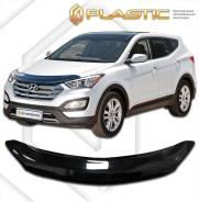 Дефлектор капота. Hyundai Santa Fe, DM Двигатели: D4HA, D4HB, G4KE, G4KH