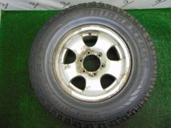 "Одно летнее 265/70R16 Bridgestone Dueler A/T с диском (A935). 7.0x16"" 6x139.70 ET25 ЦО 110,0мм."