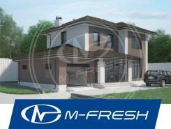 M-fresh Mangustin (Проект классного каменного дома с гаражом! ). 200-300 кв. м., 2 этажа, 3 комнаты, бетон