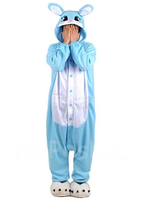 Кигуруми «Кролик» голубой - Одежда для дома и сна во Владивостоке 6fdbc13da59ee