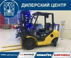 Komatsu FD25T. Вилочный автопогрузчик -17 в Кемерово, 2 500кг., Дизельный