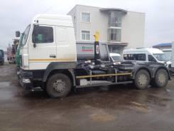 Hyva. Мультилифт МАЗ 6312C9 установка HYVA, 11 120куб. см.