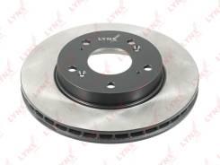 Диск тормозной | перед прав/лев | LYNXauto BN-1044